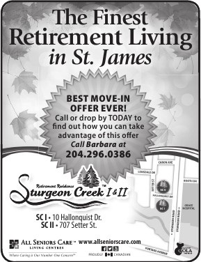 Finest retirement in St James