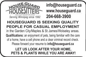 House Guard House Sitters