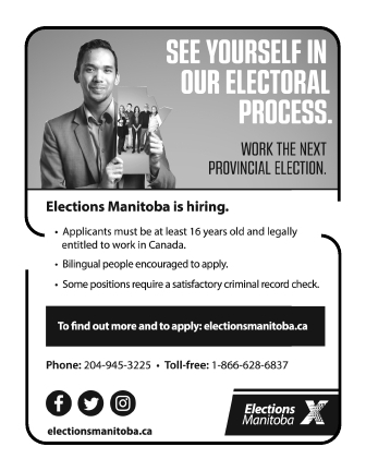 Be part of the Electoral Process