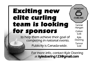 Help Sponsor a Curling Team