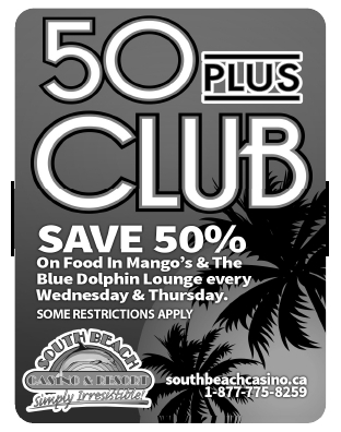 Join the 50 Plus Club